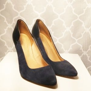 Madewell suede heels